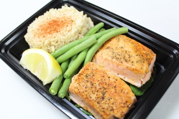 Herb Seasoned Salmon